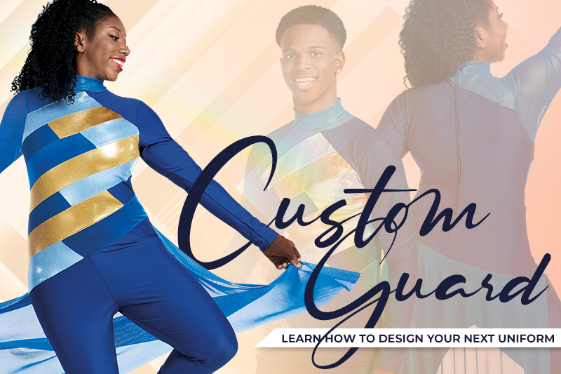 Design Your Own Color Guard and Winter Guard Flags