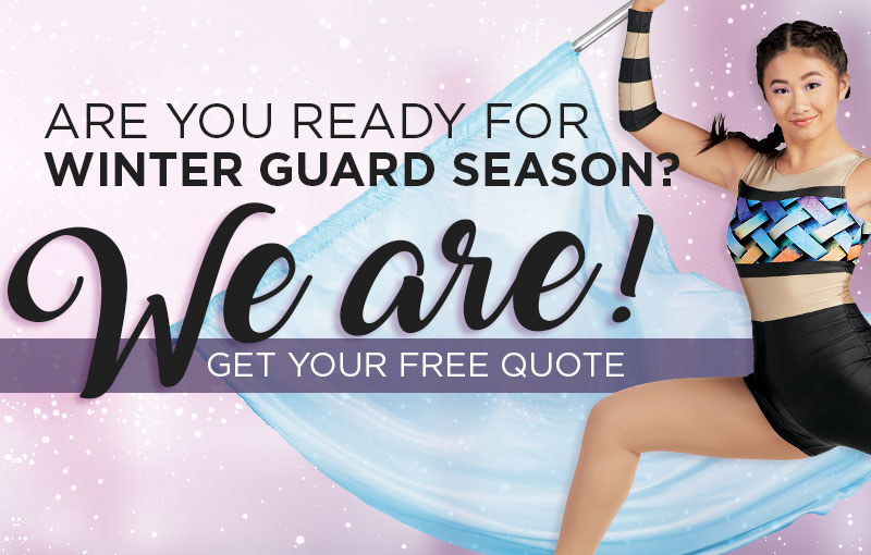 Gear up for the Winter Guard season with our complete selection of in stock and custom uniforms and accessories!