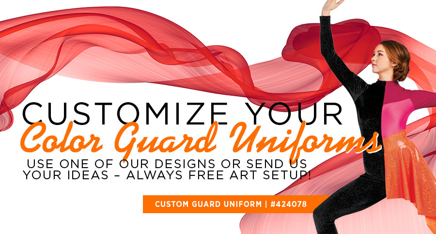 Affordable Made-to-Order Color Guard Uniforms – Learn More