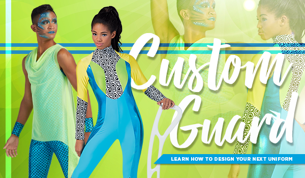 Custom Color Guard Uniforms