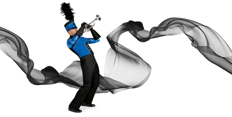 Band Shoppe has made-to-order marching band and drum corps uniforms for every group!