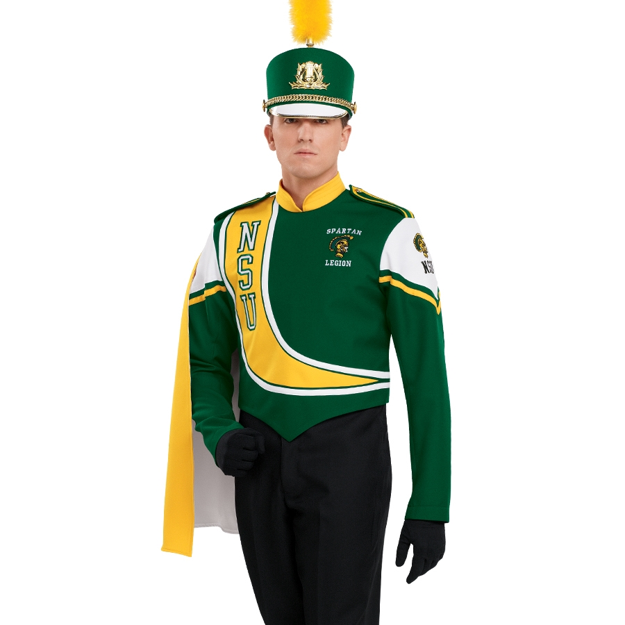Custom Half Back Marching Band Cape | Marching Band ...  |Band Shoppe Uniforms