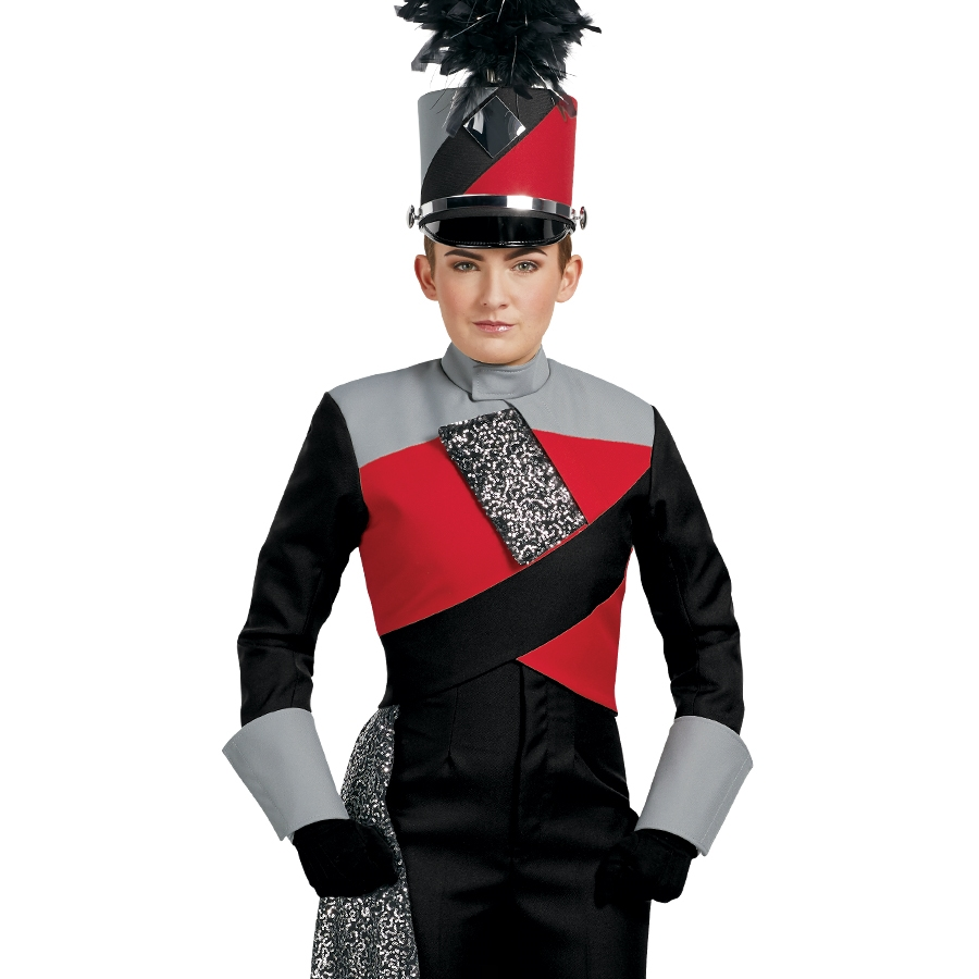 In Stock Wool Beret Hat | Marching Band Uniforms, Marching ...  |Band Shoppe Uniforms