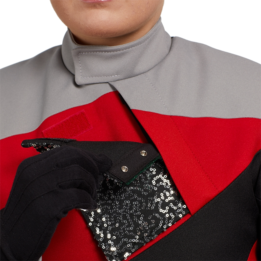 Custom Color Guard Tunic Male 4017701 | Marching Band ...  |Band Shoppe Uniforms