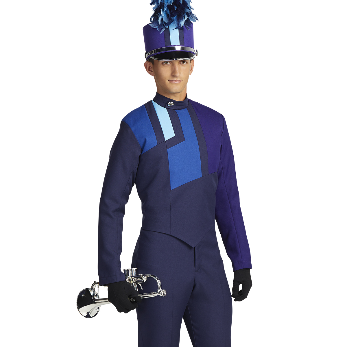 In Stock Asymmetrical Guard Tunic 442096 | Marching Band ...  |Band Shoppe Uniforms