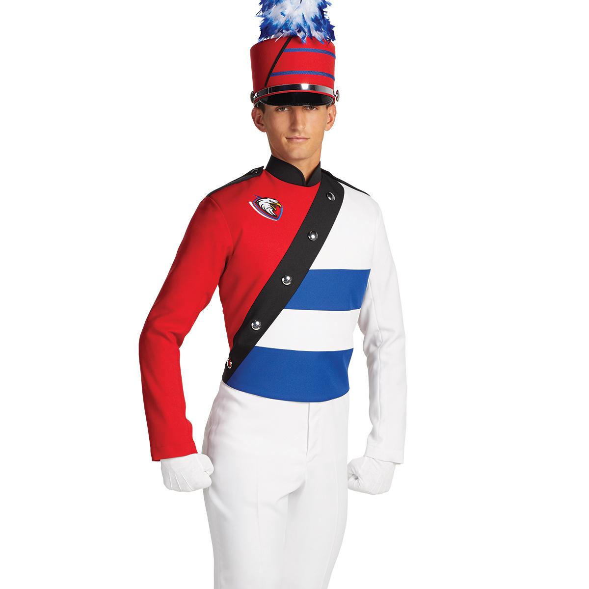 Color Guard Uniform Dress GS1643 at Band Shoppe (With ...  |Band Shoppe Uniforms