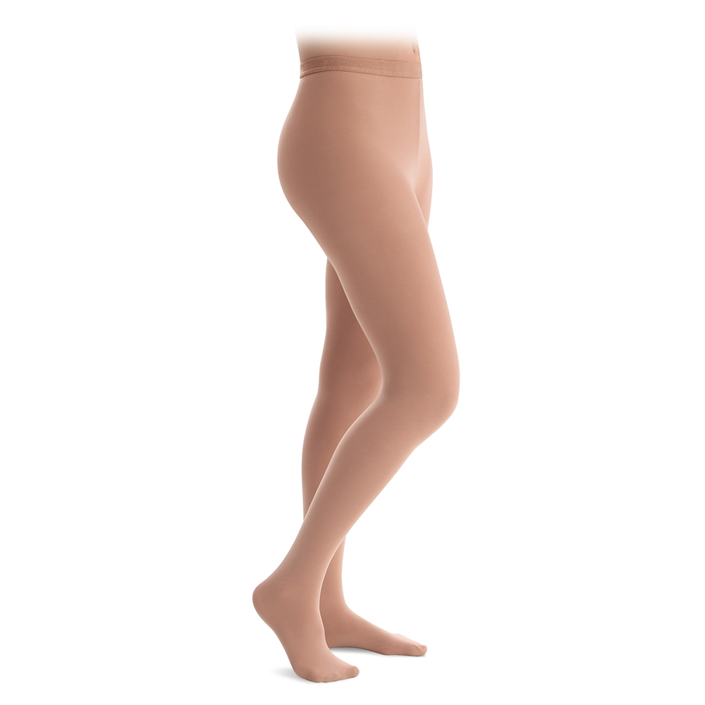 309ffe3ec78d7 Capezio Hold & Stretch Footed Tights Plus Size | Band Shoppe