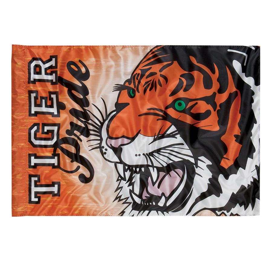 Custom Spirit/Battle Flag Tiger Pride 53006