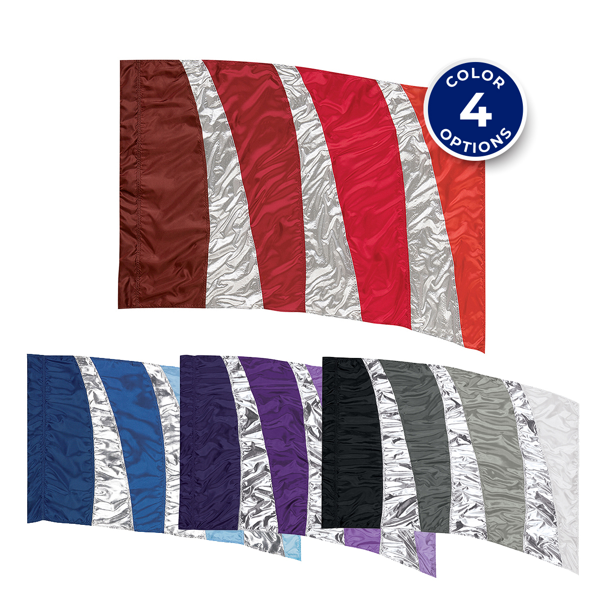 In Stock Sewn Flags | Marching Band Uniforms, Marching Band