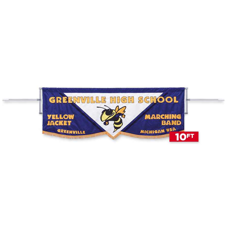 Deluxe 10' Banner Marching Frame