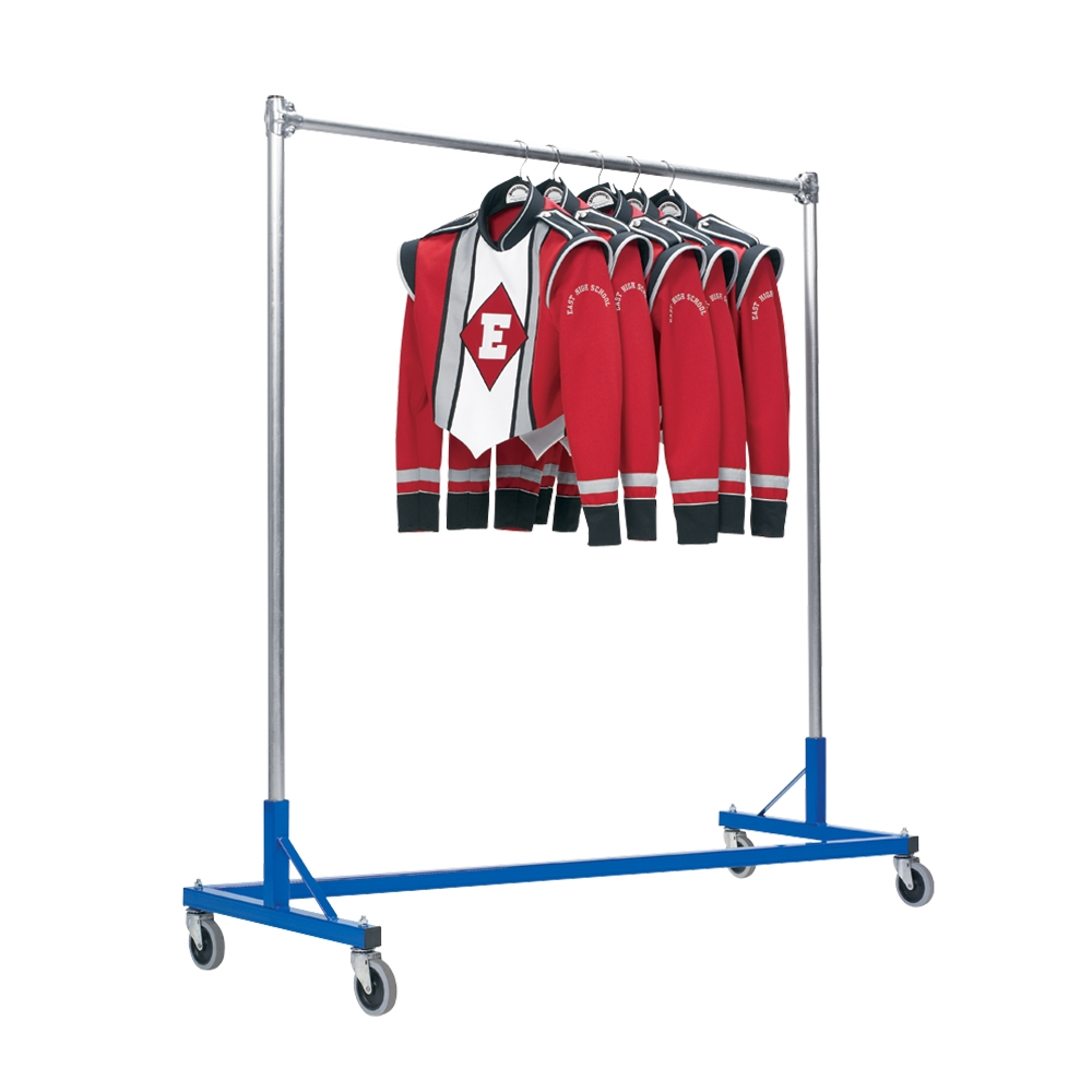Single Tier Z Rack Marching Band Uniforms Marching Band